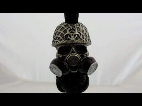 Jig Pro Shop - Biohazard Gas Mask Bead By Bad Azz Beads