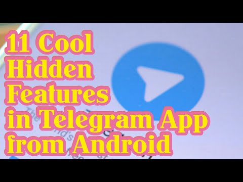 11 Cool Hidden Features in Telegram - You Must Know That !