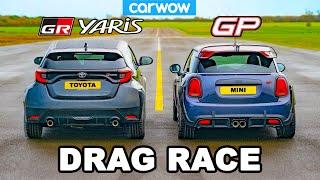Toyota GR Yaris v MINI GP - DRAG RACE