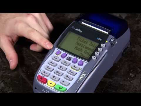 Batching Verifone VX570 Terminal - How To Batch Out A Credit Card Machine