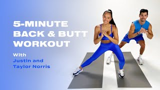 5-Minute Back & Butt Workout With LIT Method