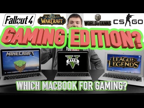 Which MacBook For Gaming?! 2018