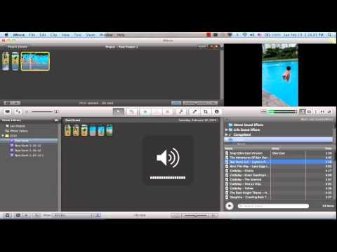 iMovie '11 tutorial (New editing tools)