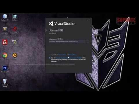 Instalación de Visual Studio Ultimate 2013 - Windows 8.1 (Transformer Book)