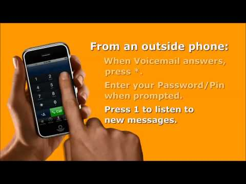 Vonage How-To: Check Voicemail from Any Phone