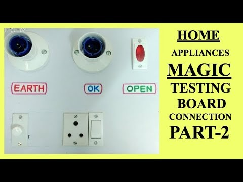 Series Parallel Testing Board Circuit Diagram ( MAGIC Testing Board ) PART 2 CONNECTION