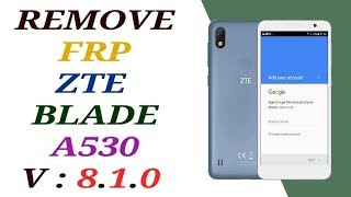 How To Bypass Google Lock Zte A520 Remove Google Account