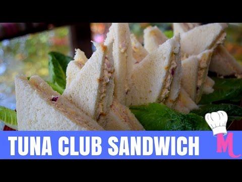 TUNA CLUB SANDWICH **MINARAS KITCHEN**
