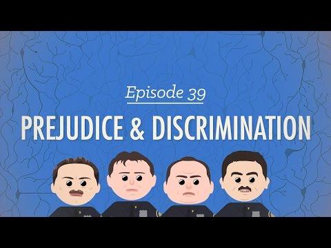 Prejudice & Discrimination: Crash Course Psychology #39