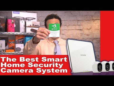 The Best Smart Home Security Camera System - Installation DIY