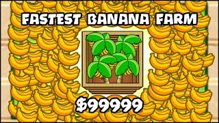 EVERY SINGLE MAX TIER 5 BANANA FARM UPGRADE IN BTD 6 // Bloons TD 6