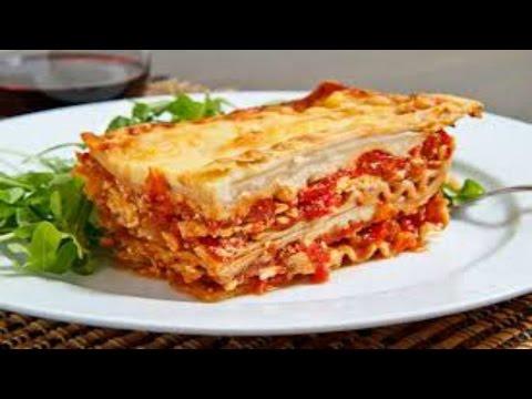 Delicious, healthy Lasagna recipe