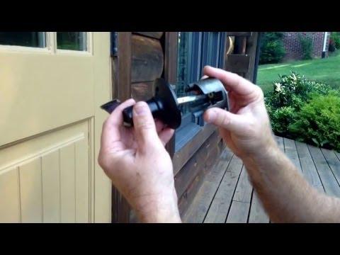 How to fix a schlage doorknob