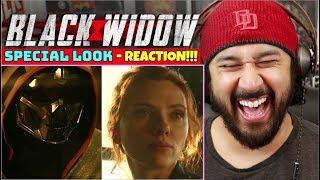 BLACK WIDOW | SPECIAL LOOK - REACTION!!!