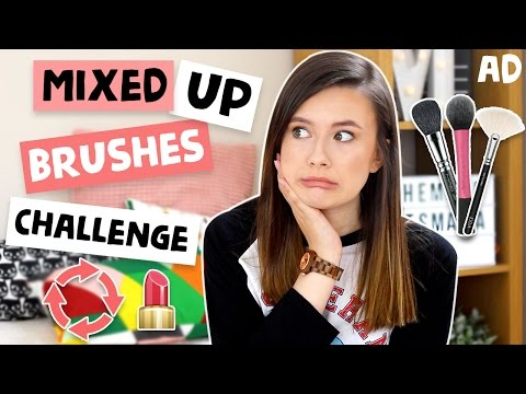 Mixed Up BRUSHES Challenge! ♡