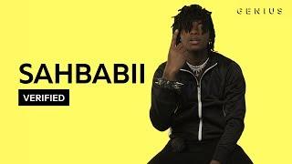 "SahBabii ""Purple Ape"" Official Lyrics & Meaning | Verified"