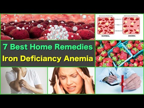 7 Best Home Remedies for Anemia Iron Deficiency Natural Remedies Anemia