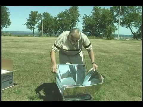How to Set Up and Operate a Sun Oven The best solar oven in the world