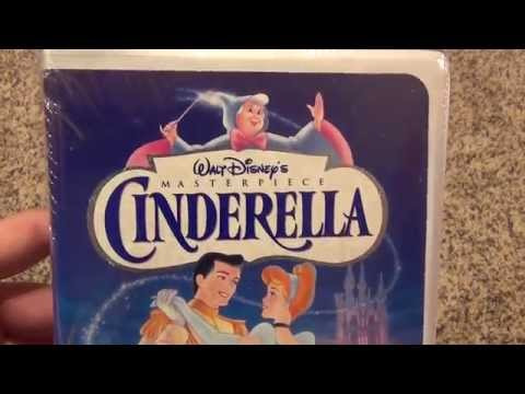 Disney's Cinderella Brand New VHS Tape Unboxing