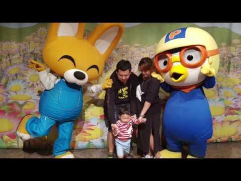 Seoul Korea ( Everland, Lotte World , Myeongdong ) Travel (april 2017)