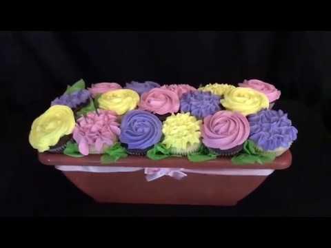 Cupcakes bouquet  (arreglo floral de cupcakes)