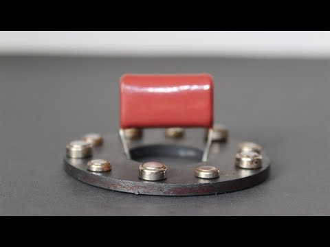 Free Energy Magnet Experiment