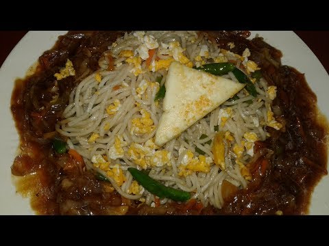 Gravy Egg Noodles Recipe by FooDs Special with Mrs. Sima
