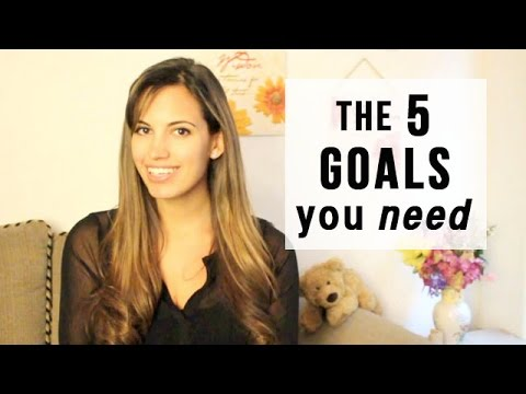 5 Goals in Life that you NEED for the New Year