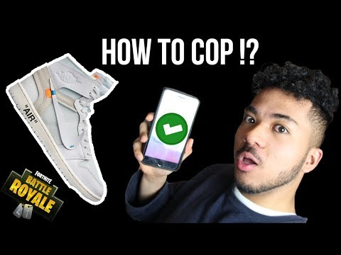 [Live] How To Cop The Off White Air Jordan 1 ? || Noob Fortnite Gameply