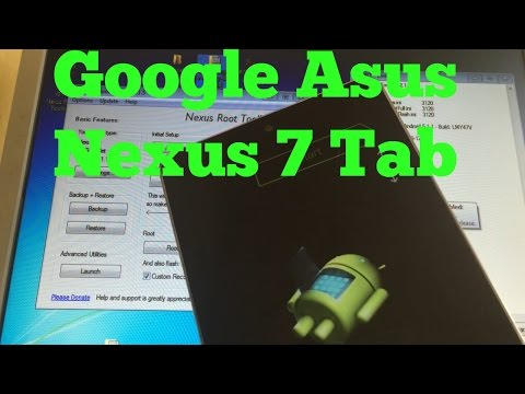 Download and Flash Stock Firmware on Google Asus Nexus 7 Tab Fix boot loop