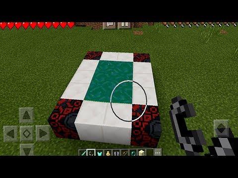 Entering a New Portal in Minecraft Pocket Edition (NO ADDONS)