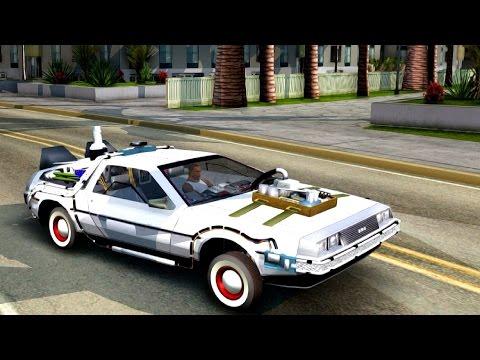 Back To The Future Part 3 DeLorean DMC 12 - GTA San Andreas
