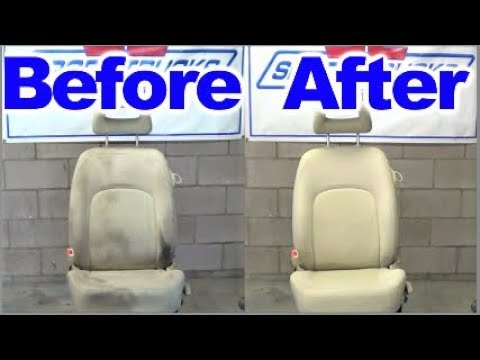 How to remove severe Grease Stains from Car Seats and Upholstery