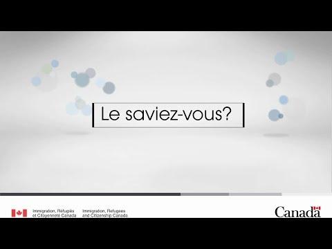 Immigration francophone au Canada : Langues officielles (1)