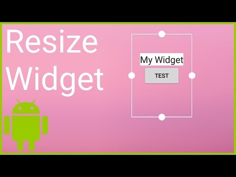 App Widget Part 3 - CHANGING THE LAYOUT ON RESIZE - Android Studio Tutorial