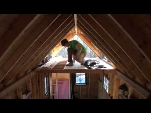 Making Tongue and Groove Flooring for Tiny House Loft
