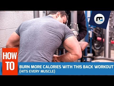How To Burn More Calories w/ this Back Workout (Hits Every Muscle)
