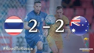 Thailand vs Australia (Asian Qualifiers – Road To Russia)