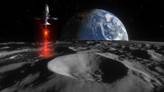 NASA Will Use Lasers To Find Water Ice on The Moon