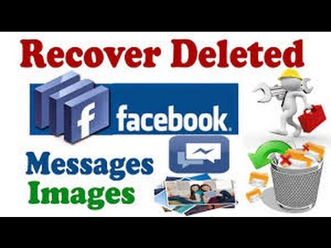How To Recover Deleted Facebook Messages / Photos 2017 By Kartik