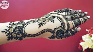New Gulf Mehndi Design For Eid 2018 Heena Vahid B6osj Videostube