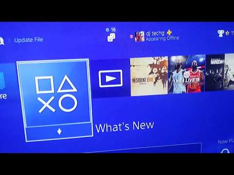 PLAYSTATION 4 5.50 BETA 2 FIRMWARE TEST TESTING SOFTWARE FIRST LOOK PS4 UNBOXING (US) 2/6/2018