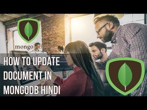 Learn mongodb in Hindi | How to update document in mongodb Hindi