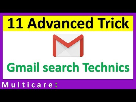 gmail advanced tips and tricks | Advance search technics