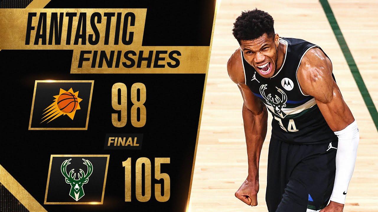 FINAL 6:40 of HISTORIC Ending To Game 6 Bucks vs. Suns 🔥🔥