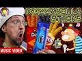 MOZZARELLA STICKS 🎵 Raptain Hook (Designer DIY Gourmet Food FV FAMILY Animated Music Video!)
