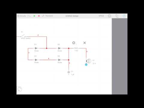 Multisim Touch - Creating a Circuit