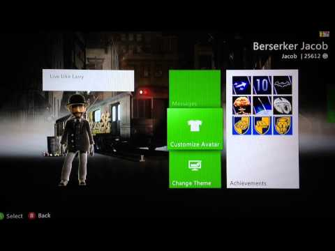 How To Change Your Xbox 360 Wallpaper/Background Theme