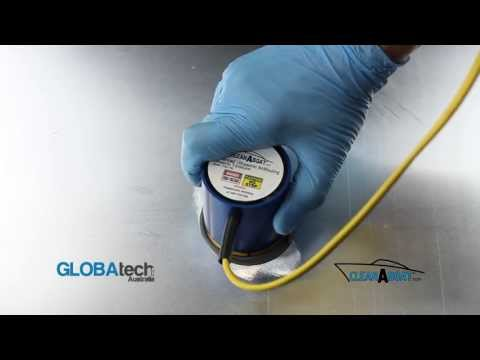 Ultrasonic Transducer Installation on Bare Steel or Alloy CleanAHull