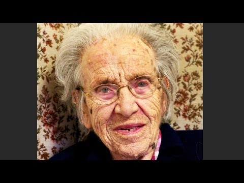 102 YEAR OLD lady made YOUNG and BEAUTIFUL again!